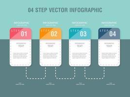 Modello di progettazione infografica passo