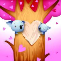 Koala Bears romantico di San Valentino