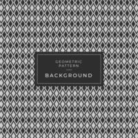 Trama di diamante stampa geometrica semplice tessuto moda