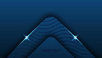 Priorità bassa ad angolo strutturata blu classica vettore