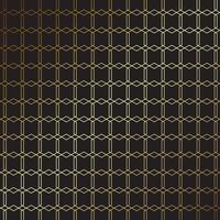 elegante design in oro e nero