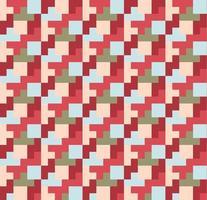 motivo geometrico a quadretti impilati