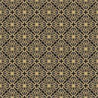 motivo geometrico marrone chiaro, nero e bianco