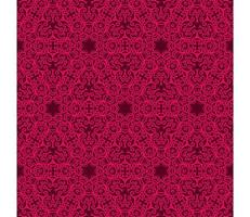 marrone e rosa brillante motivo geometrico