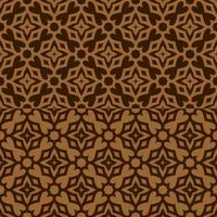 motivo geometrico marrone e marrone chiaro vettore