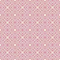 motivo geometrico a forma di fiore rosa e rosa chiaro vettore