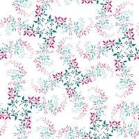 seamless pattern fogliame colorato