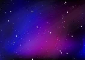 disegno astratto del cielo notturno stellato vettore