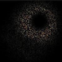 disegno del cerchio di punti mezzatinta