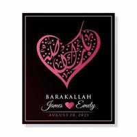 carta d'amore barakallah