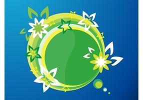 Logo di fiori vettore