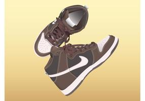 Scarpe Nike vettore