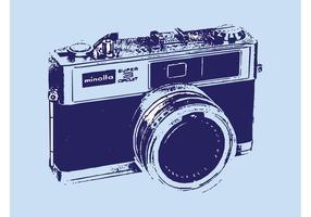 Macchina fotografica d'epoca