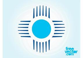 design del modello logo vettore