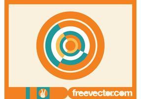 Cerchio Logo Template vettore