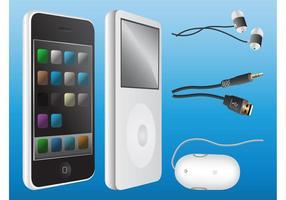 Grafica Hi-Tech dei dispositivi vettore