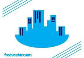 Layout del logo di grattacieli