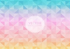 Pastello sfondo geometrico vettoriale