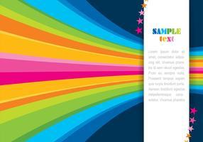 Vettore astratto del fondo del Rainbow