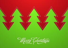 Priorità bassa astratta di vettore dell'albero di Natale