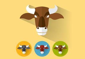 vettore di bufalo marrone