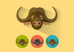 bufalo vettoriale due