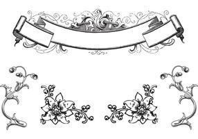 Free Antique Ornaments & Scroll Vectors