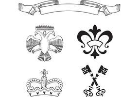 Free Heraldry Vector Elements