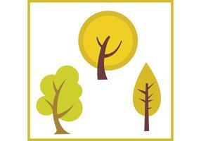 Vettori di Swirly Tree gratuiti