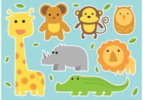 Animali di vettore del bambino