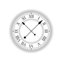 Vecchio orologio vettoriale