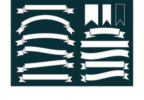 Banner decorativi vettoriale