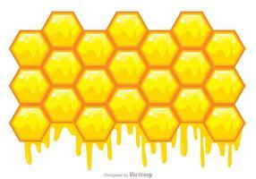 Sfondo vettoriale a nido d'ape