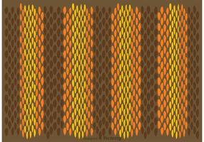 Vettore del modello di pelle di serpente