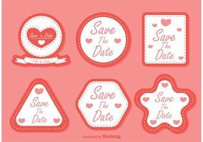Salva i vettori della data
