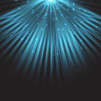 sfondo di riflettori stella blu