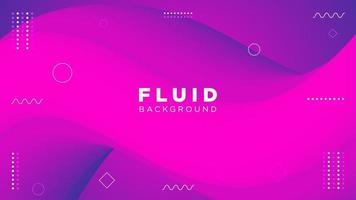 fluido viola sfumato sfondo curvo