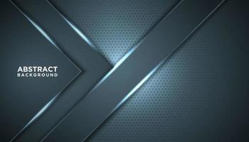 angolo blu cornice sfondo lucido vettore