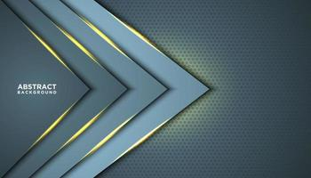 triangolo astratto con strati lucidi