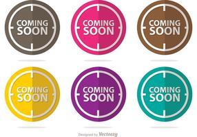 Coming Soon Pack di vettori