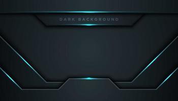 linee blu brillanti geometriche nere astratte