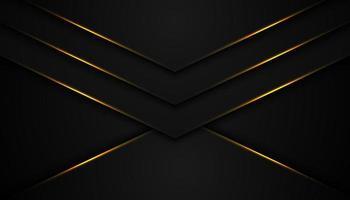 sfondo astratto nero con strati a forma di v