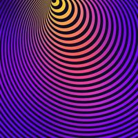 illusione ottica colorato sfondo a righe