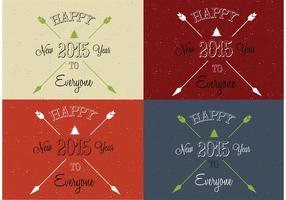 Freccia Vettori di buon anno