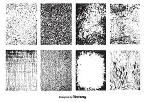 Texture di grunge vettoriale