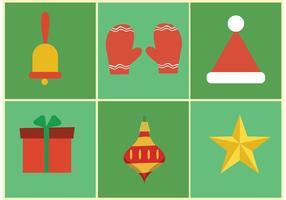 Icone di Natale vettoriali