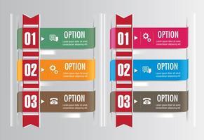 Set di nastri opzione vettoriale
