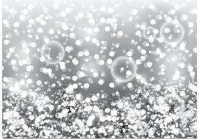 vettore di glitter argento