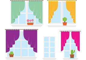 Windows colorato vettore