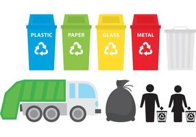 Icone dei rifiuti